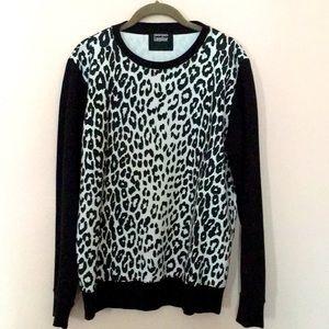 Markus Lupfer leopard print sweatshirt